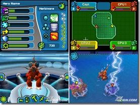 Spore Hero Arena para o Nintendo DS.